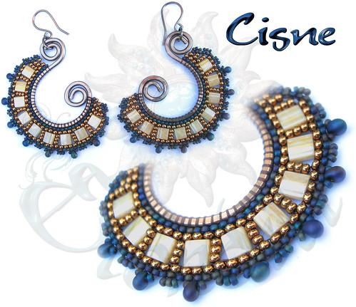 Pendientes Cisne by **Elendili**