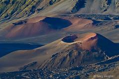 Haleakala Crater Pu'u's (Greg Vaughn) Tags: travel nature landscape outdoors volcano hawaii islands pacific scenic nobody maui crater caldera hawaiian volcanoes nationalparks puu volcanic cindercones haleakalanationalpark haleakalacrater gregvaughn puuomaui puuopele 0707526