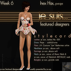 je suis...featured designer - week 6 - peqe (je suis... Julia Merosi) Tags: accessoires peqe featureddesigner leahmccullough juliamerosi inexhax