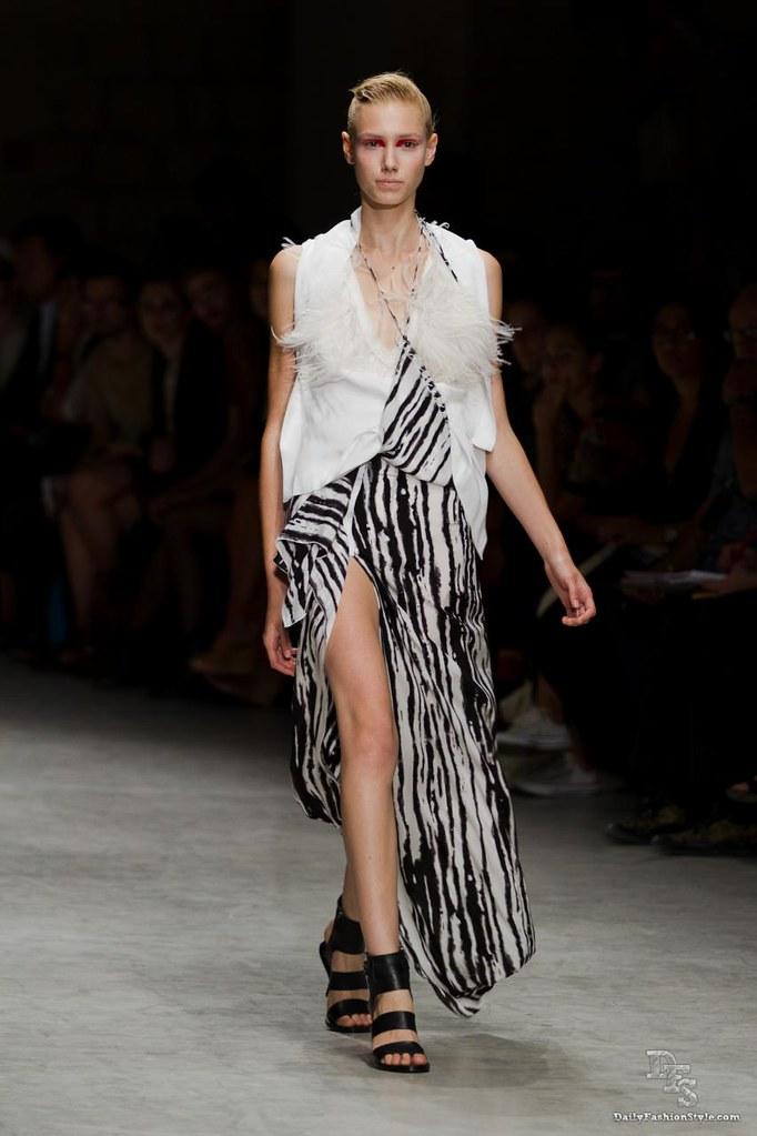 Peachoo Krejberg @ Paris Fashion Week 2011