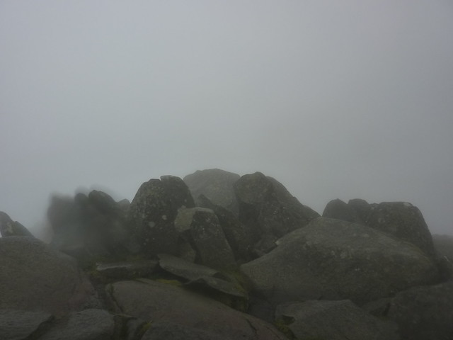 The summit of Bow Fell