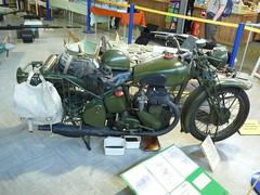 Spitfire & Hurricane Museum Manston 2011 (Spitfire13) Tags: museum kent aviation motorbike motorcycle manston bsam20 rafmanstonmuseum p10100049 spitfirehurricanemuseum