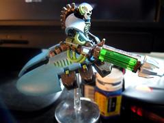 Necron 6 (Camper_Bob) Tags: miniature painted 40k destroyer warhammer duncan macdonald gamesworkshop necron