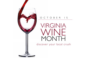 October 2011 is Virginia Wine Month!