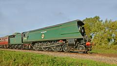 Southern Railway,'Battle of Britain Class' 34070 'Manston' (Phajus) Tags: steamtrains steamlocomotives swanagerailway southernrailwaybattleofbritainclass34070manstonwestsomersetrailway