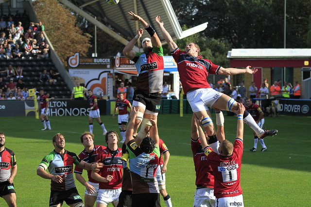 George Robson wins at the line out