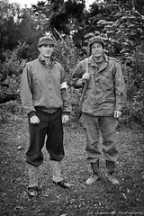 Father and Son (Joe Gazzarato) Tags: army war wwii worldwarii ww2 worldwar2 ecc groupshoot eastsidecameraclub joegazzarato joegazzaratophotography wwwjoegazzaratocom vonhoosen