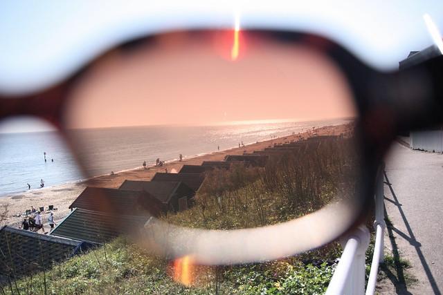 Sneaky look through my sunnies !