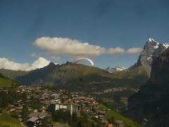 rz parasailing from murren down to lauterbrunnen