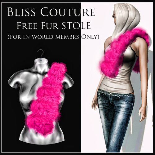 Free Fur Stole by Cherokeeh Asteria