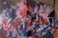 YAKUZA 893 (Assi-one) Tags: street art film colors bill stencil kill luci col oren tarantino pochoir ishii assione