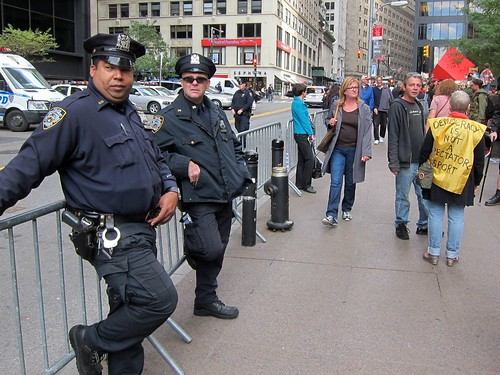 Occupy Wall Street: Day 16, Zuccotti Park, NYPD
