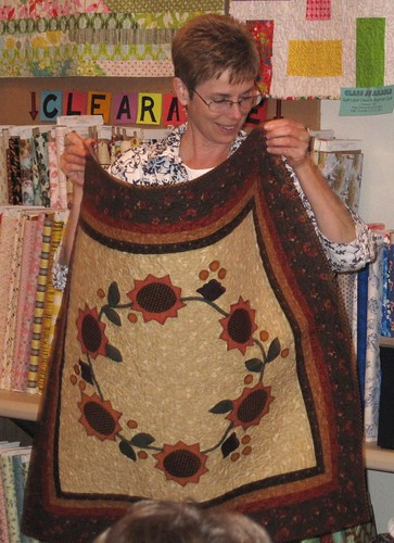 Leanne's applique