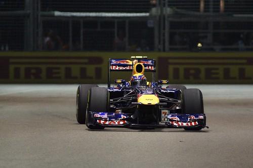 Singapore formula 1, 2011 — Mark Webber,  Red Bull Racing by eyesthruthelens