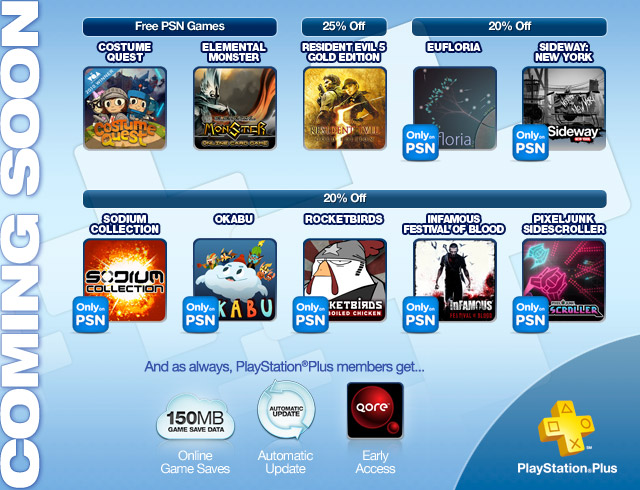 PlayStation Plus October 2011
