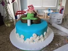 mermaid fondant cake (thecakecraft) Tags: cake mermaid fondant
