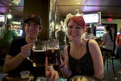 167/365 Days of Marriage (take_hart) Tags: friends love beer bar fun marriage oktoberfest days mug cheers 365 pintnight