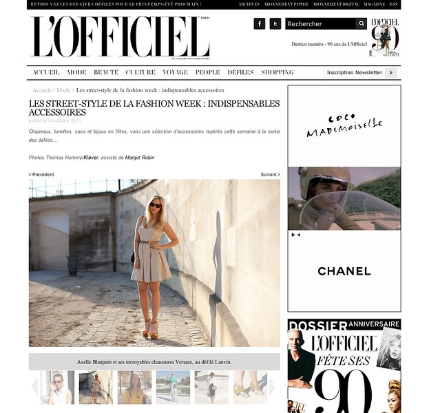 l officiel feature