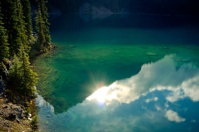 Reflection of Lake O'Hara