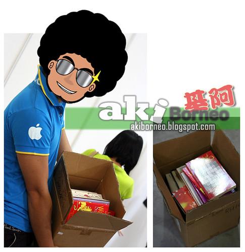 Aki Borneo books