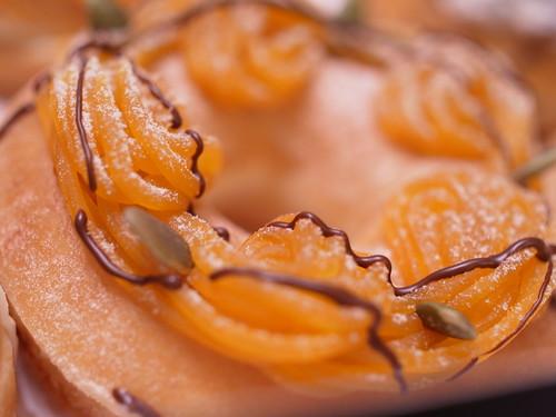 pumpkin chocolate treat