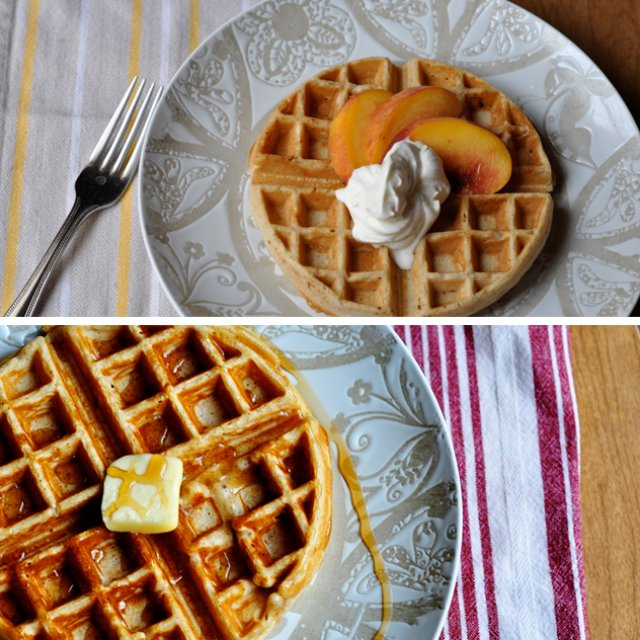 two way waffles