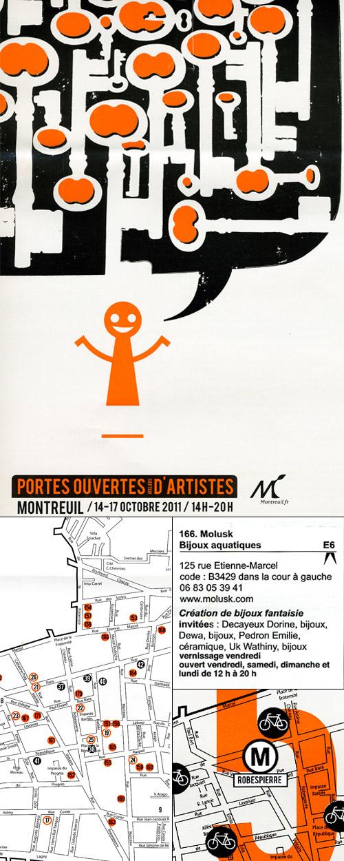 Prospectus Portes ouvertes Montreuil