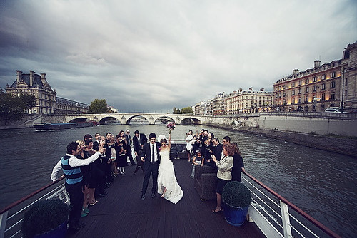 married on the seine