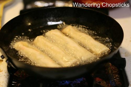 Cha Gio Chay (Vietnamese Vegetarian Egg Spring Rolls) 17