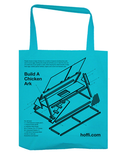 Build a chicken ark - Tote bag