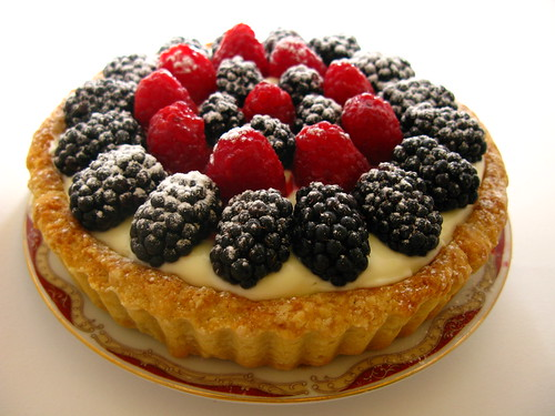Berry Tart summer recipe