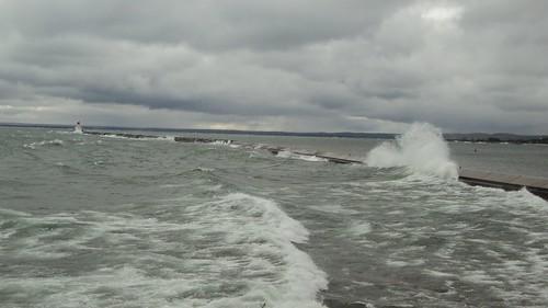 Presque Isle Breakwater