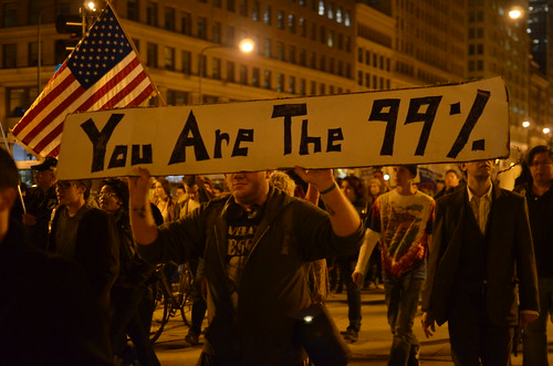 Occupy Chicago Protest March 274