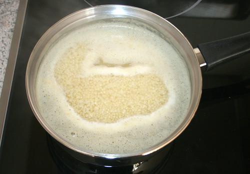 10 - Hirse kochen