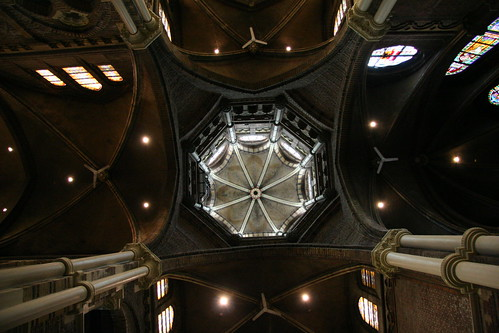 amsterdam - cathedral ceiling
