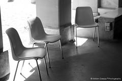 Chairs II (Miriam Daepp) Tags: barcelona city urban london reflections germany switzerland losangeles citylife streetphotography istanbul lausanne venicebeach bern duesseldorf cityscenes gehryhouse gehryarchitecht