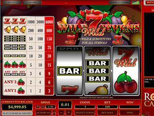 Wild Sevens 1 Line slot game online review