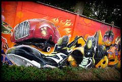 By TEMPO (NOK) (Thias (-)) Tags: temp terrain streetart paris wall painting graffiti mural spray urbanart painter graff aerosol bombing 91 nok spraycanart pgc thias photograff frenchgraff photograffcollectif