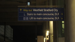 signposts to Stratford