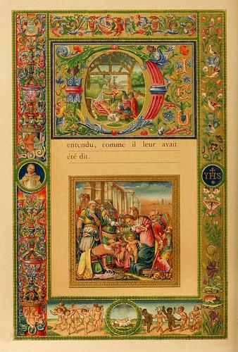 011-El santo dia de Navidad-Evangelio pagina 4-Les évangiles des dimanches et fêtes de l'année –Vol 1- 1864- Leon Curmer
