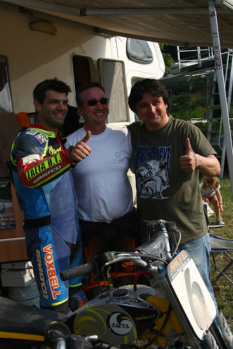 Freddie with Marco Belli + fan-01