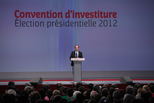 Convention d'investiture de François Hollande