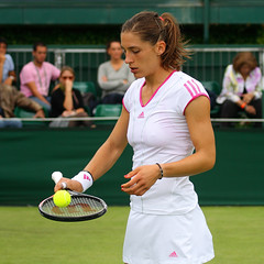 The 125th Championships Wimbledon 2011 - Andrea Petkovic (Ger) (Andy2982) Tags: tennis wimbledon fra ger firstround allenglandlawntennisclub court18 andreapetkovic the125thchampionshipswimbledon2011 stephanieforetzgacon
