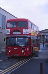 Highland Scottish D328 Inverness (Guy Arab UF) Tags: bus buses 1971 scottish highland western alexander smt inverness daimler fleetline 2290 scottishbusgroup d328 crg6lx uag133j