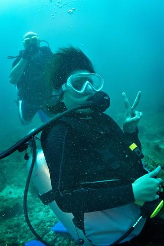 Kim the Diver!