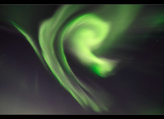 Rays of Particles - Aurora over Iceland (orvaratli) Tags: sky sun storm green night dark landscape lights solar iceland astro arctic aurora starts ingvellir magnetic northernlights norther