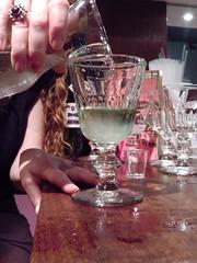 Jenny pours