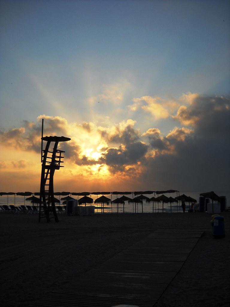 Peńiscola, amanecer mediterraneo
