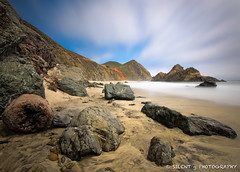 High Noon in Big Sur (Silent G Photography) Tags: california ca longexposure beach water clouds rocks bigsur pch highway1 pfeifferbeach pacificcoasthighway cloudmovement markgvazdinskas silentgphotography