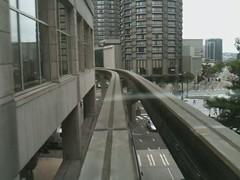 Monorail Commute (Rob Ketcherside) Tags: seattle westlake belltown monorail 5th